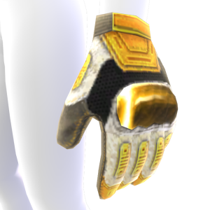 Modular Gloves - White and Gold