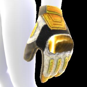 Modular Gloves - White and Gold