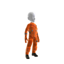 Item de avatar do Banco Itaú – Roupa de astronaut masculino