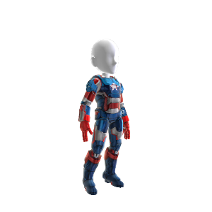 Iron Patriot Suit