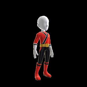 Samurai Red Ranger Outfit