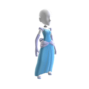 Cinderella's Princess Costume