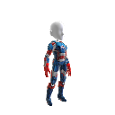 Costume di Iron Patriot