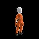 Item de avatar do Banco Itaú - Roupa de astronaut feminino