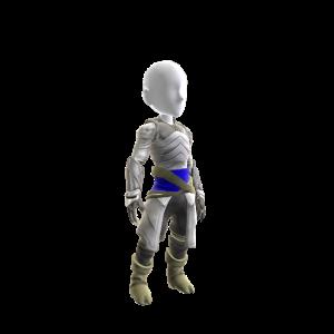 White Archer Ninja Costume