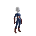Costume Captain America : The Avengers