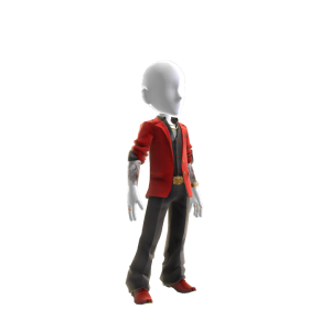 Underworld Boss Outfit - Red