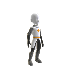 Orange Knight Tunic