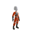 Wedge Antilles X-wing Uniform