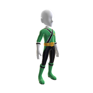 Samurai Green Ranger Outfit