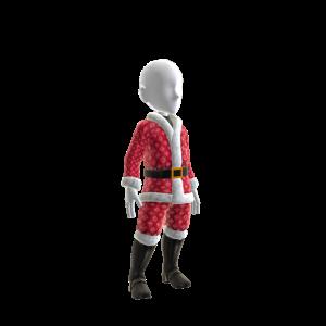 Bling Santa Costume