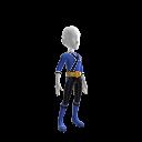 Samurai Blue Ranger Outfit