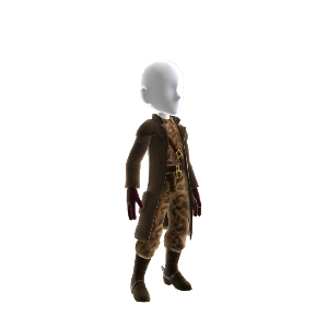 MGS2 Revolver Ocelot Outfit