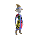 Bejeweled Wizard Robe Costume