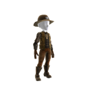 Sheriff Black Costume 