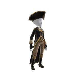 Traje de George Washington