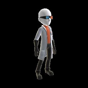 Professor Quadwrangle Outfit