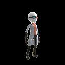 Professor Quadwrangle Outfit - Female