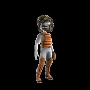 Baltimore Orioles Catcher's Uniform