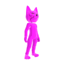 Catsuit Pink Chrome