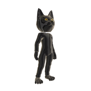 Catsuit Black Chrome