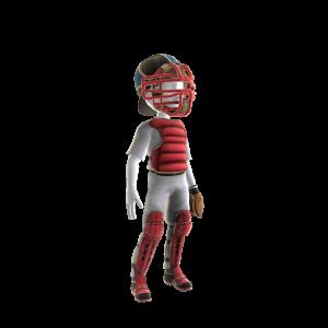 Boston Red Sox Catcher's Uniform