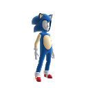 Costume d'avatar Sonic Old-school
