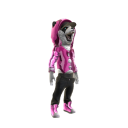 Angry Panda - Bling Pink