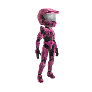 Halo Spartan Armor- Bright Pink 