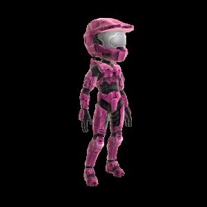 Halo Spartan Armor- Bright Pink