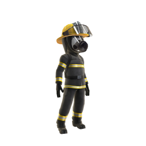 Firefighter - Black