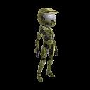 Halo Spartan Armor - Green