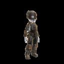 Lutador Soldier Costume