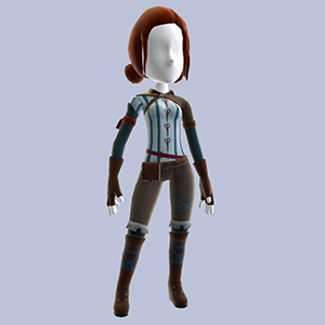 Triss Outfit
