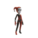 Fato de Harley Quinn