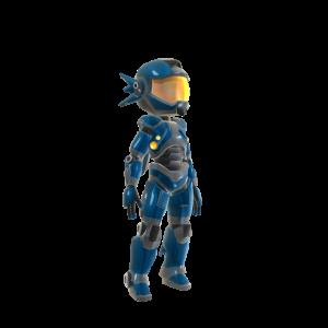 Power Suit - Blue
