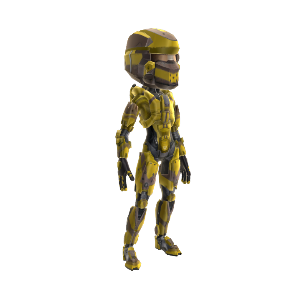Warrior Armor - Yellow