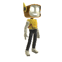 Costume de robot Kinect Hros 