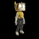 Costume de robot Kinect Héros