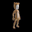 """""""Afrikanischer Löwe""""-Anzug"""