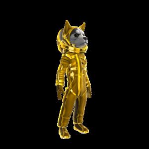 Bling Dogstronaut