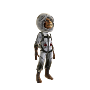 Cosmic Silverback Costume