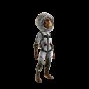 Kosmischer Silberrücken-Kostüm