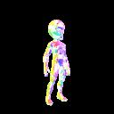 Jewel Suit - Rainbow