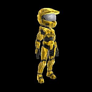 Halo Spartan Armor - Gold