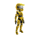 Halo Spartan Armor - Gold 