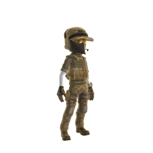 Military Operator - Desert
