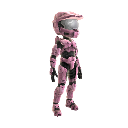 Halo Spartan Armor - Pink