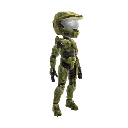 Halo Spartan Armor - Green 