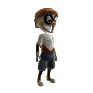 Captain Baseball Bat Boy Outfit